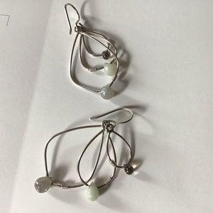 Retired Silpada Earrings. 925 Silver